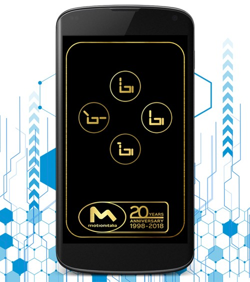 Infotronik Progetti App Android Motion NFController Home Gallery