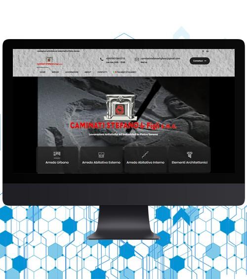 Infotronik Progetti Siti Web Vetrina Caminati Home Gallery