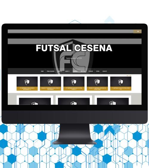 Infotronik Progetti Siti Web Vetrina Futsal Cesena Home Gallery