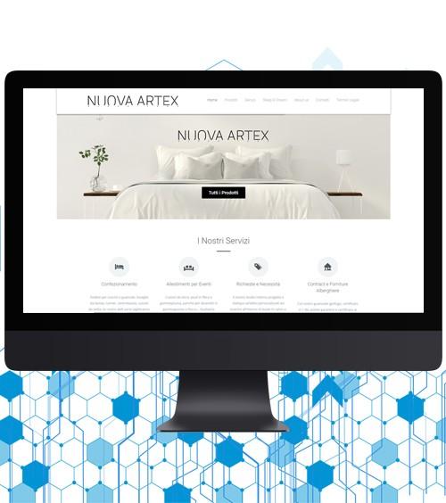 Infotronik Progetti Siti Web Vetrina Nuova Artex 2019 Home Gallery