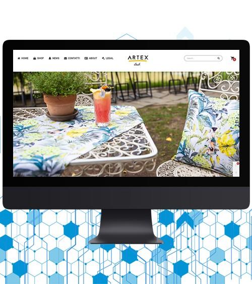 Infotronik Progetti Siti Web eCommerce ArtexLab 2018 Home Gallery