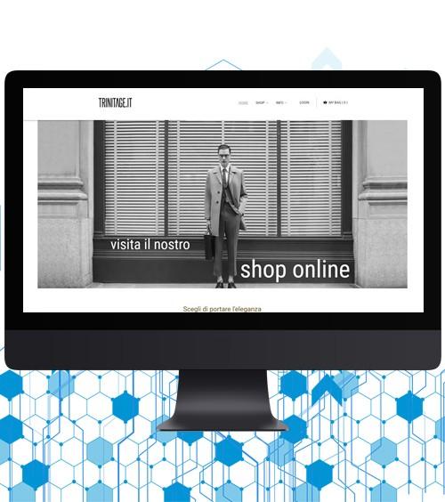 Infotronik Progetti Siti Web eCommerce Trinitage 2018 Home Gallery