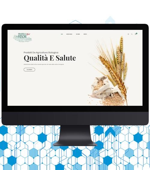 Infotronik Progetti Siti eCommerce Bio Fratelli Foschi Home Gallery