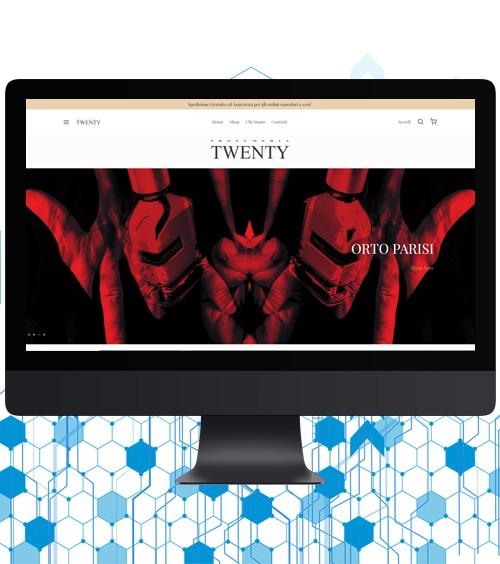Infotronik Progetti eCommerce Twenty Home Gallery
