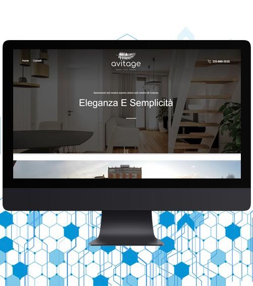 Infotronik Progetti Sito Vetrina Avitage Immobiliare Instagram